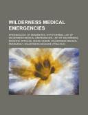 Wilderness Medical Emergencies