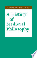 A History Of Medieval Philosophy