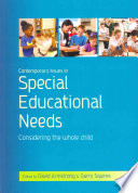Contemporary Issues In Special Educational Needs Considering The Whole Child Book PDF