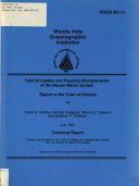 Tidal Circulation and Flushing Characteristics of the Nauset Marsh System