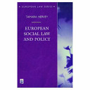 European Social Law and Policy