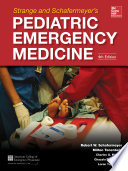 Strange And Schafermeyer S Pediatric Emergency Medicine Fourth Edition