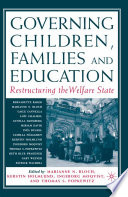 Governing Children  Families and Education Book
