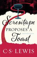Screwtape Proposes a Toast Pdf/ePub eBook