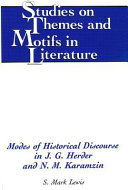 Modes of Historical Discourse in J G  Herder and N M  Karamzin