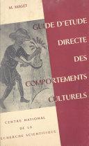 Ethnographie métropolitaine : guide d'étude directe des comportements culturels Pdf/ePub eBook