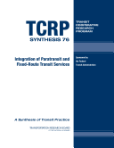 Integration of Paratransit and Fixed route Transit Services