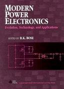 Modern Power Electronics Book