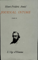 JOURNAL INTIME -T9- -AGE D HOMME-