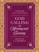 God Calling for Morning and Evening Book PDF