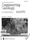 The Quarterly Journal of Engineering Geology