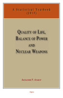 Quality of Life, Balance of Power, and Nuclear Weapons (2015) Pdf
