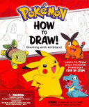 Pokemon How to Draw Kit  Starting with All Stars