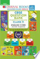"""Oswaal CBSE Question Bank Chapterwise & Topicwise Class 11, English Core (For 2021 Exam)"" by Oswaal Editorial Board"