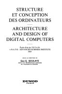 Structure Et Conception Des Ordinateurs
