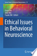 Ethical Issues in Behavioral Neuroscience Book