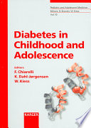 Diabetes in Childhood and Adolescence Book