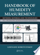 Handbook of Humidity Measurement, Volume 1