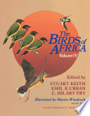 The Birds of Africa  Volume IV