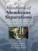 Handbook of Membrane Separations