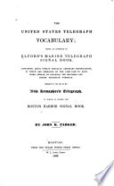 American Signal Book Or The United States Telegraph Vocabulary