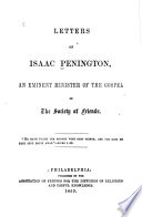 Letters of Isaac Penington