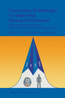 Pdf Converging Technologies for Improving Human Performance Telecharger