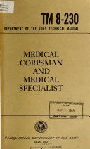 Medical Corpsman and Medical Specialist