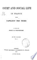 Court and Social Life in France Under Napoleon the Third Book