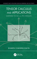 Tensor Calculus and Applications [Pdf/ePub] eBook
