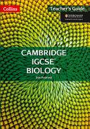 Collins Cambridge Igcse (R) - Biology Teacher Pack: Cambridge Igcse (R) [Second Edition]
