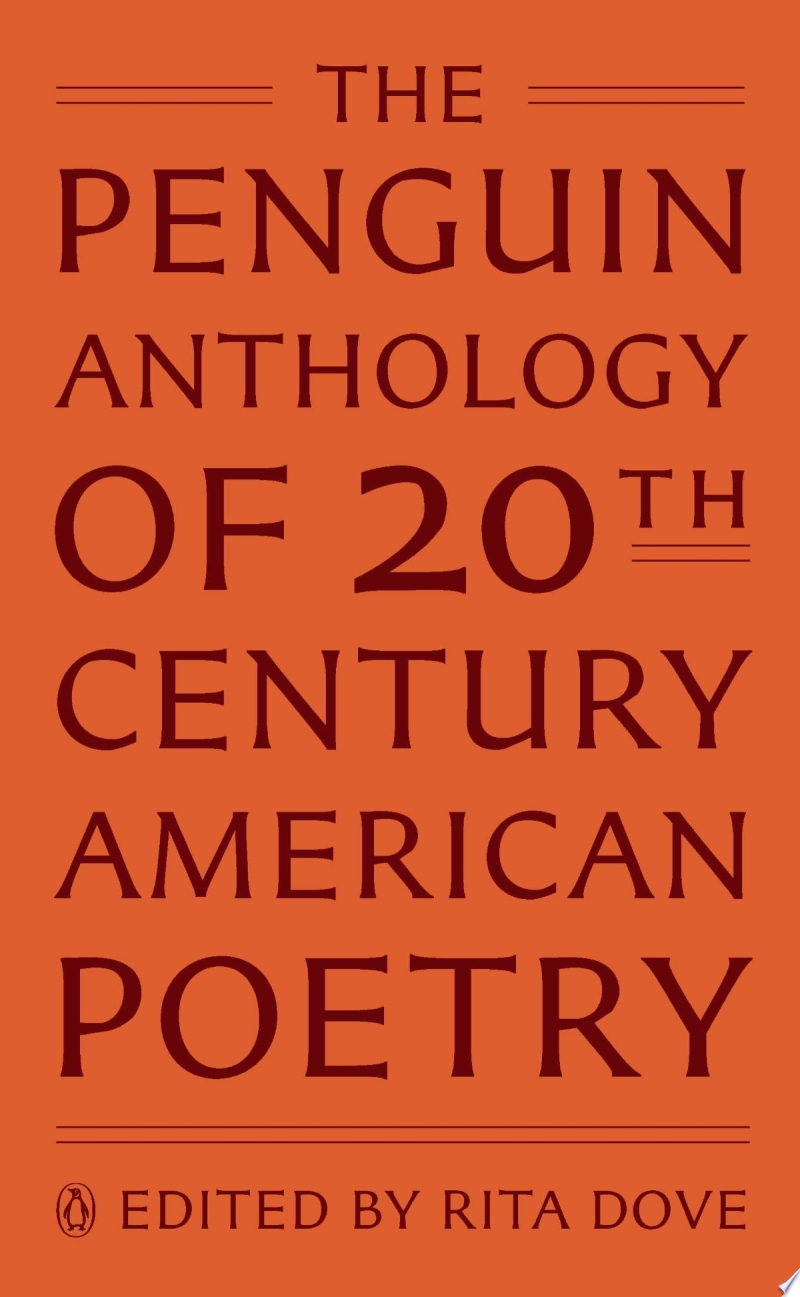 The Penguin Anthology of Twentieth century American Poetry