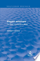 Elegant Jeremiahs  Routledge Revivals