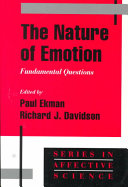 The Nature of Emotion