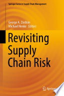 Revisiting Supply Chain Risk Book