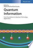 Quantum Information, 2 Volume Set