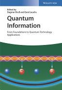 Quantum Information  2 Volume Set