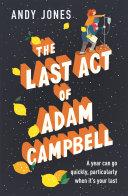 The Last Act of Adam Campbell Pdf/ePub eBook