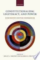 Constitutionalism  Legitimacy  and Power Book PDF
