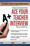Ace Your Teacher Interview