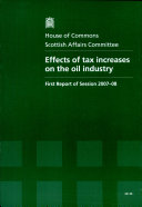 Effects of tax increases on the oil industry