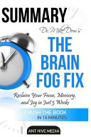 Dr  Mike Dow s the Brain Fog Fix
