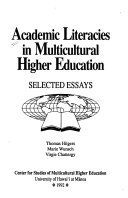 Academic Literacies in Multicultural Higher Education