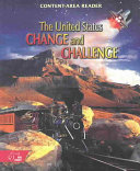 Content Area Reader United States change and Challenge Book PDF