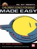 Children's Songs for Banjo Made Easy [Pdf/ePub] eBook