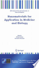 Nanomaterials for Application in Medicine and Biology Book