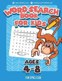 Word Search Books for Kids Ages 4-8