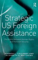 Strategic US Foreign Assistance Pdf/ePub eBook