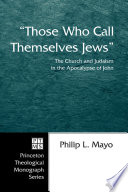Those Who Call Themselves Jews