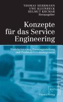 Konzepte für das Service Engineering